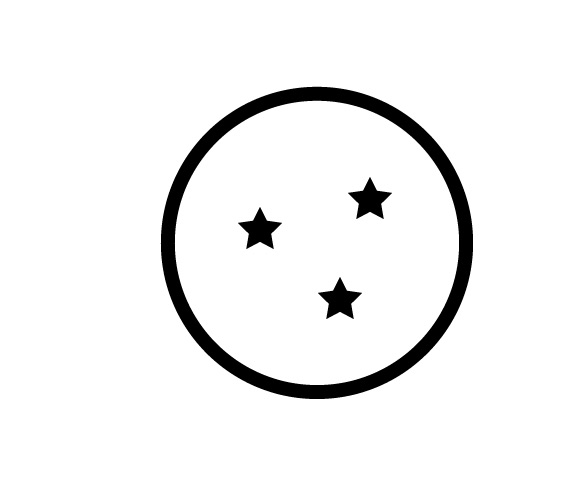 Sticker – 3 Star Dragon Ball