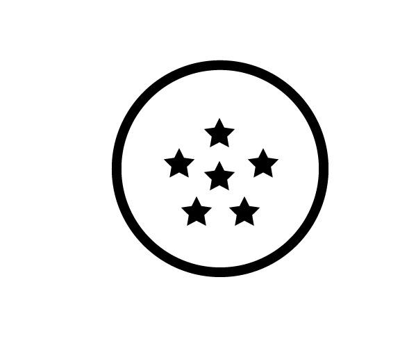 Sticker – 6 Star Dragon Ball